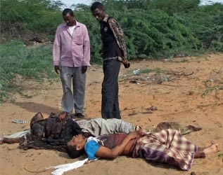Fazul Abdullah Mohammed and associate killed in Somalia 2011. (It is not clear which body is Mohammed's.)